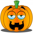 Stock Vector: Jack-o'-Lantern Pumpkin Face - 8