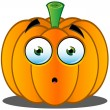 Stock Vector: Jack-o'-Lantern Pumpkin Face - 13