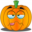 Stock Vector: Jack-o'-Lantern Pumpkin Face - 14