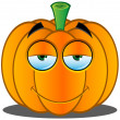 Stock Vector: Jack-o'-Lantern Pumpkin Face - 15