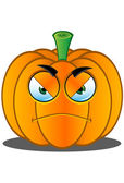 Jack-o'-Lantern Pumpkin Face - 5 — Stock Vector