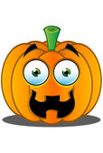 Jack-o'-Lantern Pumpkin Face - 7 — Stock Vector