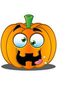 Jack-o'-Lantern Pumpkin Face - 9 — Stock Vector