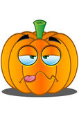 Jack-o'-Lantern Pumpkin Face - 14 — Stock Vector