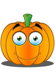 Jack-o'-Lantern Pumpkin Face - 18 — Stock Vector