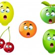 Cartoon Fruit Set 4 — Stock Vector #14156220