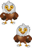 Bald Eagle Character 4 — Stock Vector