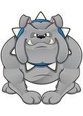 Cartoon Bulldog — Stock Vector