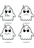 Naughty Ghost - Set 2 — Stock Vector