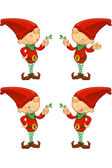 Red Elf — Stock Vector