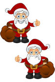 Santa Claus character — Stockvektor