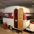 Stock Photo: Historical Wilk Sport mobile home