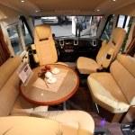 Carthago recreational vehicle interior — Stock Photo #12433195
