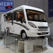 Lightweight Hymer EX 504 Recreational Vehicle — Foto Stock #12433228