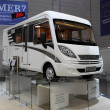 Lightweight Hymer EX 504 Recreational Vehicle — 图库照片 #12433228