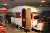 Historical Wilk Sport mobile home — Stock Photo