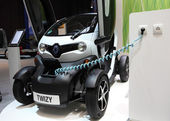 Electric car Renault Twizy — Stock Photo