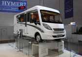 Lightweight Hymer EX 504 Recreational Vehicle — 图库照片
