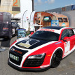 Dethleffs sponsored Audi R8 race car — Stock Photo