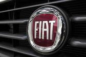 FIAT logo — Stock Photo