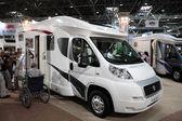 Modern camper vans — Stock Photo