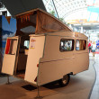 Historical KIP mobile home — Stock Photo