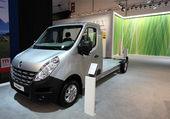 Renault master chassi för husbilar — Stockfoto