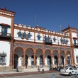 Main train station in Jerez de la Frontera, Andalusia Spain — Stock Photo
