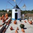 Stock Photo: Traditional windmill in Algarve, Portugal