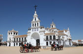 The Hermitage of El Rocio. Province of Huelva, Andalusia, Spain — Stock Photo