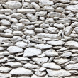 White painted stone wall — Stock Photo #12629349