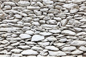 White painted stone wall — Stock Photo