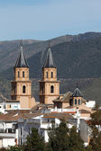 Cathedral of the Andalusian village Orgiva, Spain — Stock Photo