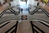 在卡塔尔的多哈伊斯兰艺术博物馆的内部 — 图库照片