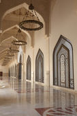 The Qatar State Grand Mosque in Doha, Middle East — Stock Photo