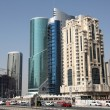 Dohnew downtown district West Bay. Qatar, Middle East — Stock Photo #12740710