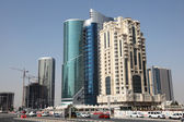 Doha new downtown district West Bay. Qatar, Middle East — Stock Photo