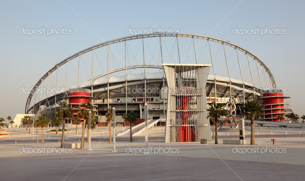 Khalifa International Stadium in Doha, Qatar  Stock Photo #12740138