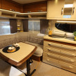 Stock Photo: Interior of modern camper van