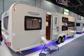 LMC Munserland mobile homes — Stock Photo