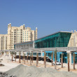 Stock Photo: Trump Tower Station at Palm Jumeirah in Dubai, UAE