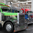 Peterbilt LKW auf der international motor show — Stockfoto