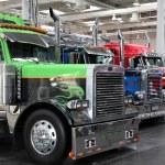 Peterbilt truck uluslararası motor Show'da — Stok fotoğraf