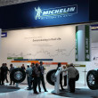 Michelin Tyres Stand at the International Motor Show — Stock Photo #13150191