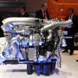 New Paccar Truck Engine at the International Motor Show — Stok fotoğraf