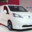 Nissan E-NV200 electric Concept Van - ストック写真