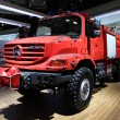Stock Photo: Mercedes Benz Zetros Fire Engine