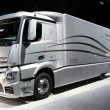 Stock Photo: Mercedes Benz Aerodynamics Truck
