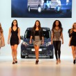 Ford Transit Van presentation with a fashion show - Stock Photo