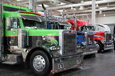 Peterbilt Truck at the International Motor Show — Stock Photo